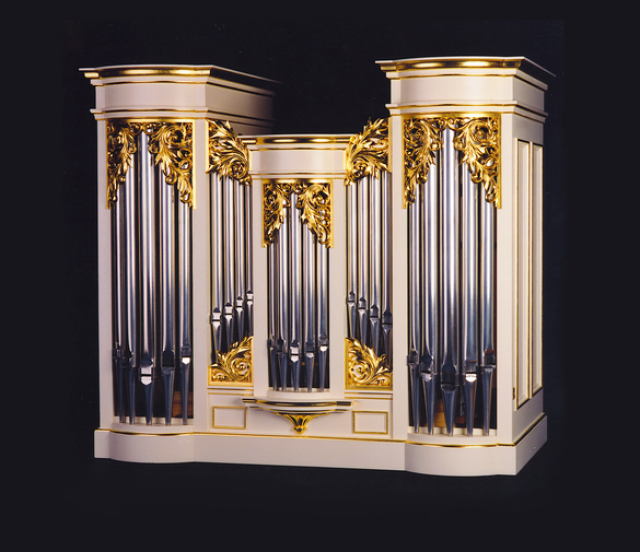 Bach Organ 2000 made by Robin Jennings