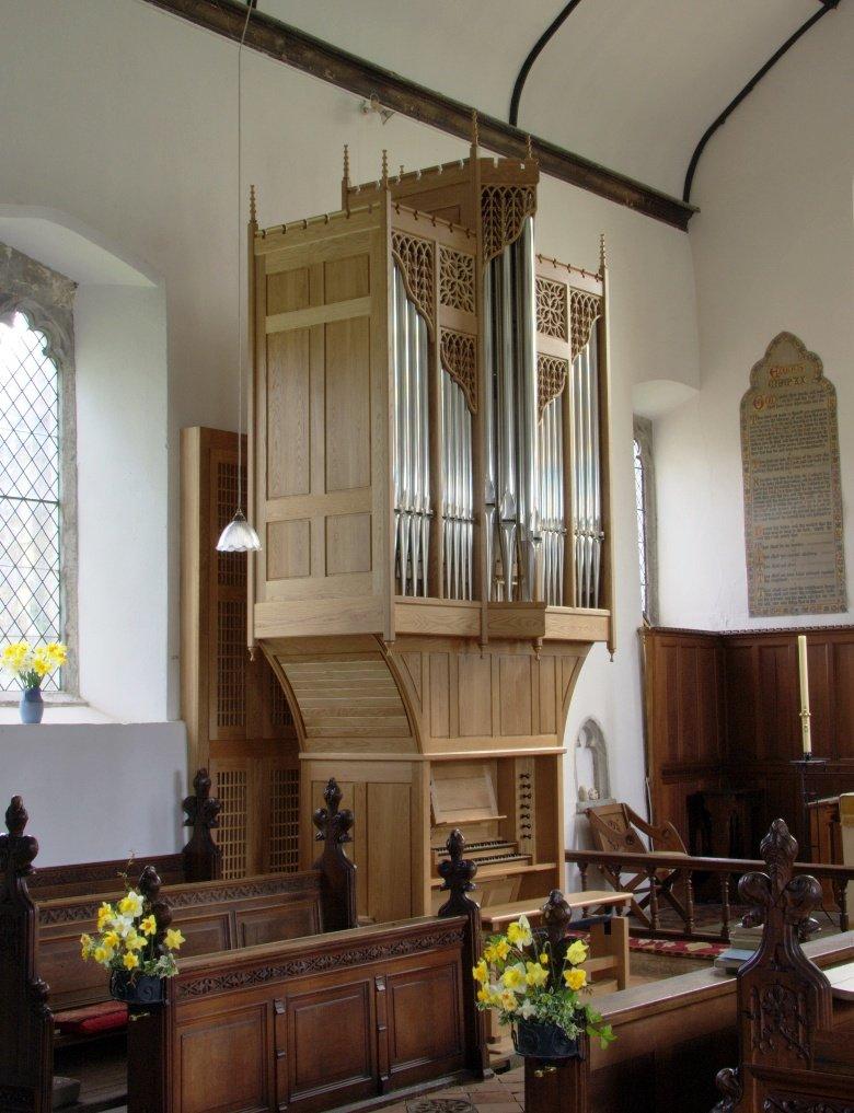 Pluckley Organ